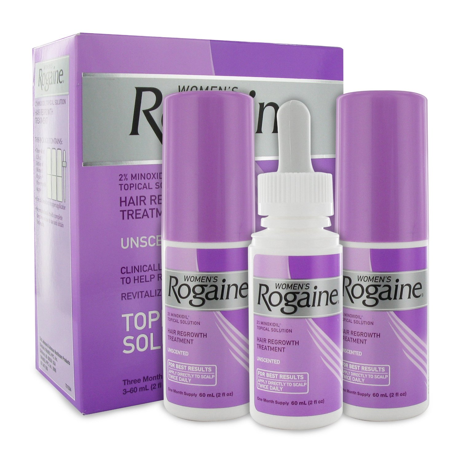 Female Hair Loss Rogaine